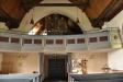 Orgelfasaden i barock är från 1760-talet