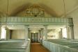 lite dystra målningen över altaret