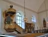Predikstolen som tidigare suttit över altaret