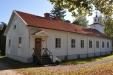 Nianfors kyrka 19 september 2014 Halva byggnaden är/har varit bostad