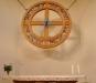 Ett livshjul med tolv bilder ur Jesu liv