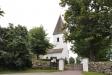 Flistads kyrka med vacker grind