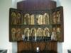 Altarskåp med delar från 1400-talet