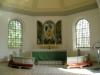 Ovanstycket från 1702 års altartavla fick komma till heders 1949