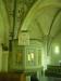 Predikstolen från 1885 pryds av timglaset från 1737 och ljusarmen från 1600-talet