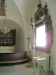 Pga det intensiva solljuset var det nästan omöjligt att fotografera den vackra barockramen