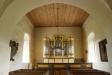 Orgeln i tornets bottenvåning.