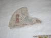 kalkmålning triumfbågens vägg
