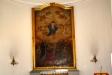 Altartavlan med motiv av ´Kristi himmelsfärd´ är målad1856 av Gustav Adolf Engman.
