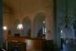 Det var förmodligen ännu mörkare i kyrkan när den först byggdes.