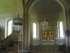 Många valv finns det i Heda kyrka