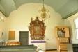 Målning föreställande gamla kyrkan