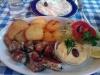 Krispigt friterad potatis