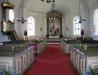 Väderstads kyrkas interiör..Foto:Bernt Fransson