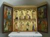Altarskåp från Lübeck (1400-tal) skänkt från Svanshals församling