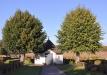 Gravkapellet/bårhuset på kyrkogården