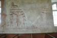 Fragmentariska målningar som anses utförda av Amund