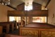 En predikstol som kanske förlorat sina skulpturer
