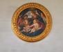 Altaruppsatsens tavla är utförd av Johan Magnus Hammerdal 1780.