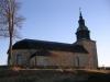 Bjurum kyrka i aftonsol