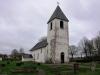 Sörby kyrka gav ett dåligt intryck med tanke på eftersatt underhåll.