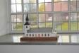 Modell av kyrkan