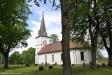 Dopfunten står längst ner i kyrkan