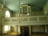 Orgeln från 1880 har renoverats 1946 och 1966