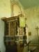 Predikstolen från 1715 är utförd av bildhuggare Olof Tholin