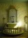 Altartavlans målning är sedan 1966 övertäckt och de 7 stjärnorna knyter an till Uppb. 1:20