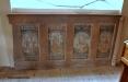 Målningar som kommer från gamla kyrkan