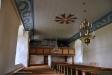 Orgelläktaren där också sakristian är inrymd sedan 1970