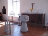 Dopplats med apostlar från gamla kyrkan.
