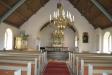 Inne i Härjevads nya kyrka foto Christian