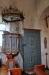Även dörren till predikstolen har det vackra mönstret