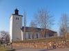 Hova kyrka från sydväst. Foto: (c) Kerstin Pilblad 2011.