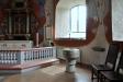 Predikstol från 1900 och ljudtak från 1600-talet