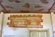 Bemålade brädor från en medeltida föregångare till kyrkan