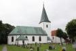 Kyrkan från norr.
