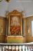 kvarvarande detalj av Ullbergs altaruppsats