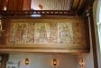 Bilder på orgelläktarens barriär