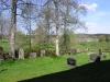 Kyrkogården i Böne maj 2008