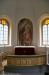 Madonnabild som kommer från den gamla kyrkan