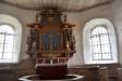 Altaruppsatsen är från 1700-talet
