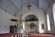 För att ha varit en 1100-talskyrka i romansk stil ser den märkvärdigt modern ut..