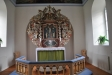 Altaruppsats ´ i rik barock