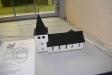 Modell av den nya kyrkan