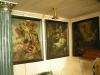 Ett antal 1700-talsmålningar med motiv från passionshistorien och Kristi himmelsfärd