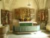 Orgelläktaren är lite avigt placerad