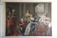 Målningen ´Hamans ändalykt´ från 1600-talet